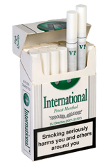 VP International Menthol Box KS